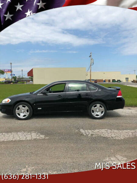 2007 Chevrolet Impala for sale at MJ'S Sales in Foristell MO