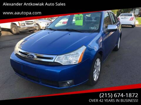 2011 Ford Focus for sale at Alexander Antkowiak Auto Sales in Hatboro PA