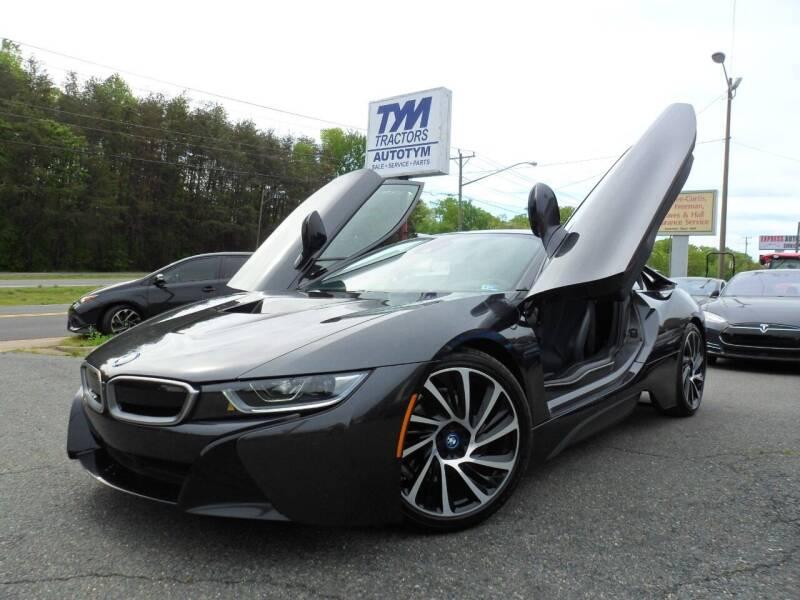 2016 BMW i8 for sale at AUTOTYM INC in Fredericksburg VA