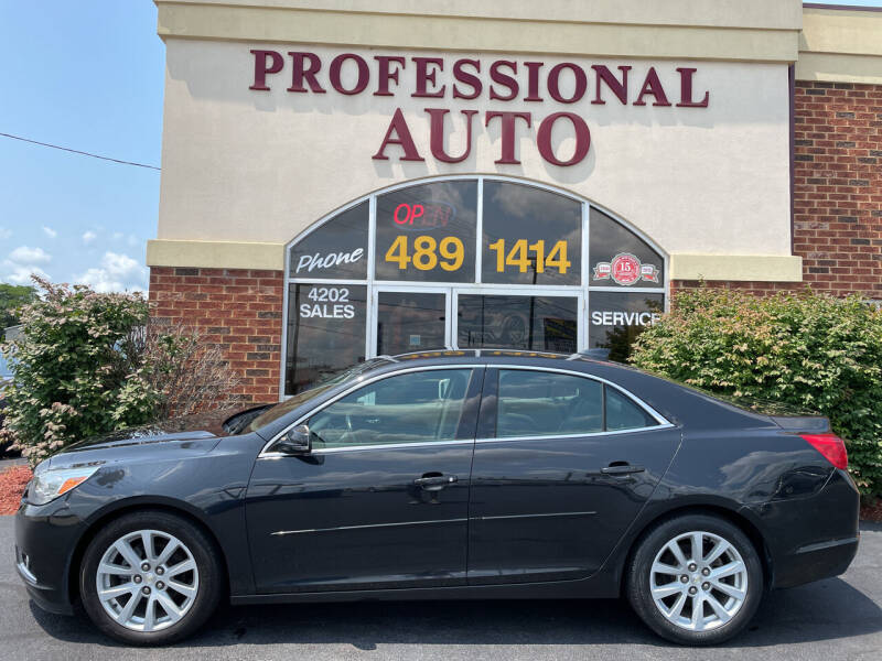 2015 Chevrolet Malibu for sale at Professional Auto Sales & Service in Fort Wayne IN
