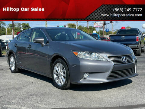 2015 Lexus ES 300h for sale at Hilltop Car Sales in Knoxville TN