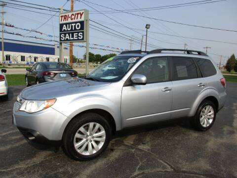 2013 Subaru Forester for sale at TRI CITY AUTO SALES LLC in Menasha WI