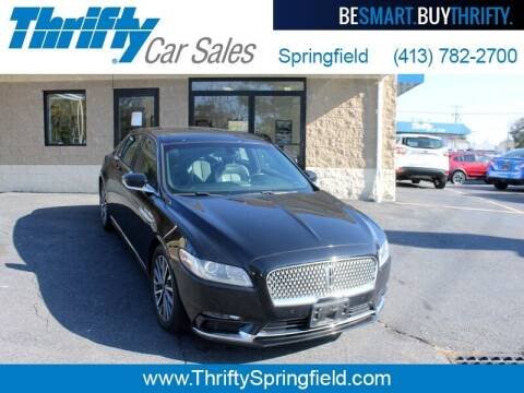 2017 Lincoln Continental for sale at Thrifty Car Sales Springfield in Springfield MA