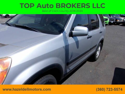 2002 Honda CR-V for sale at TOP Auto BROKERS LLC in Vancouver WA