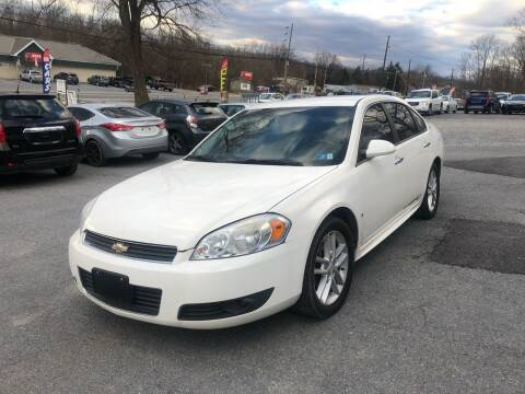 2009 Chevrolet Impala for sale at Noble PreOwned Auto Sales in Martinsburg WV