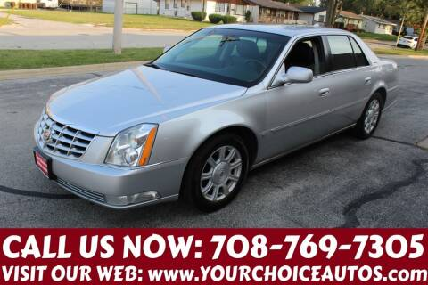 2009 Cadillac DTS for sale at Your Choice Autos in Posen IL
