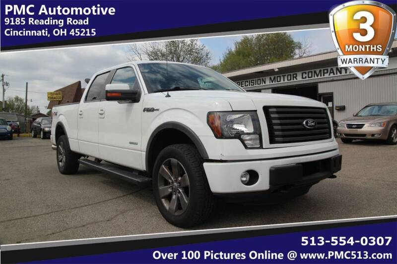 2012 Ford F-150 for sale at PMC Automotive in Cincinnati OH