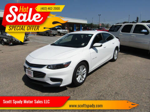 2018 Chevrolet Malibu for sale at Scott Spady Motor Sales LLC in Hastings NE