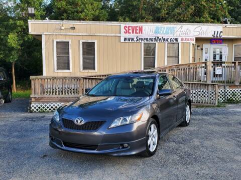 2007 Toyota Camry for sale at Seven and Below Auto Sales, LLC in Rockville MD