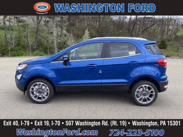 2021 Ford EcoSport for sale in Washington, PA