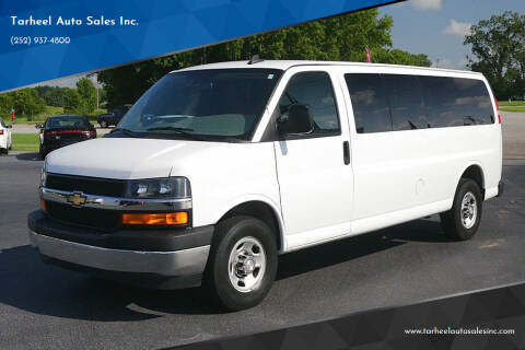 2018 Chevrolet Express Passenger for sale at Tarheel Auto Sales Inc. in Rocky Mount NC