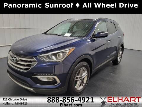 2017 Hyundai Santa Fe Sport for sale at Elhart Automotive Campus in Holland MI