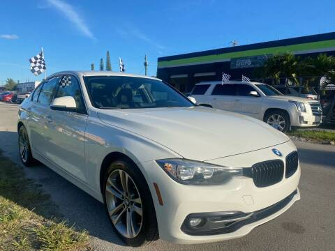 2017 BMW 3 Series for sale at GCR MOTORSPORTS in Hollywood FL