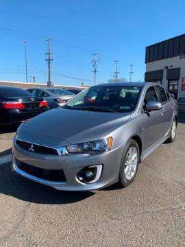 2016 Mitsubishi Lancer for sale at Luxury Unlimited Auto Sales Inc. in Trevose PA