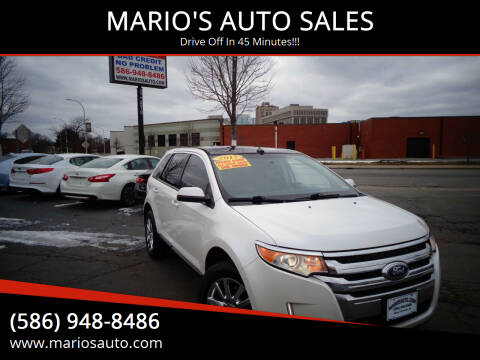 2013 Ford Edge for sale at MARIO'S AUTO SALES in Mount Clemens MI