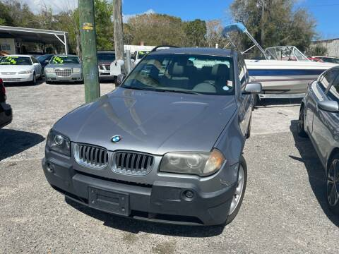 2004 BMW X3 for sale at Louie's Auto Sales in Leesburg FL