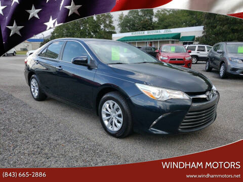 2016 Toyota Camry for sale at Windham Motors in Florence SC