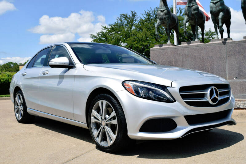 2015 Mercedes-Benz C-Class for sale at European Motor Cars LTD in Fort Worth TX