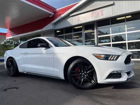 2017 Ford Mustang for sale at Furrst Class Cars LLC  - Independence Blvd. in Charlotte NC