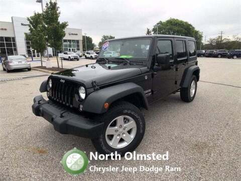 2018 Jeep Wrangler JK Unlimited for sale at North Olmsted Chrysler Jeep Dodge Ram in North Olmsted OH