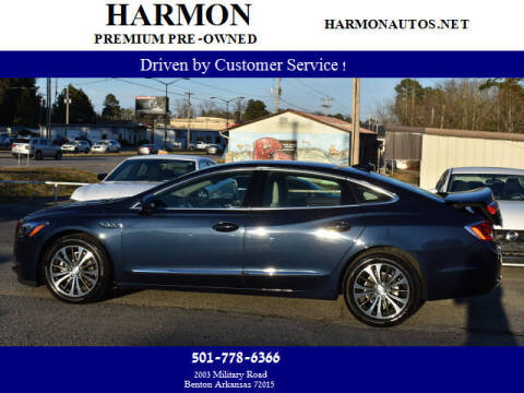 2017 Buick LaCrosse for sale at Harmon Premium Pre-Owned in Benton AR