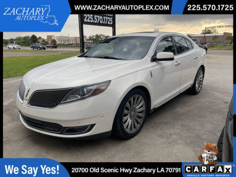 2013 Lincoln MKS for sale at Auto Group South in Natchez MS