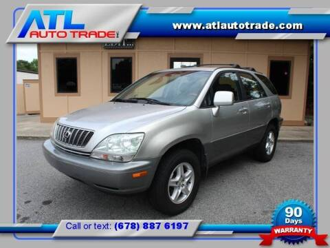 2002 Lexus RX 300 for sale at ATL Auto Trade, Inc. in Stone Mountain GA