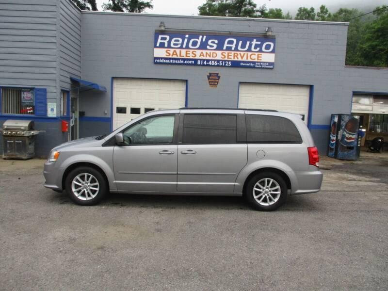 2014 Dodge Grand Caravan for sale at Reid's Auto Sales & Service in Emporium PA