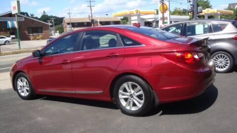 2013 Hyundai Sonata for sale at ROSS MOTOR CARS in Torrington CT