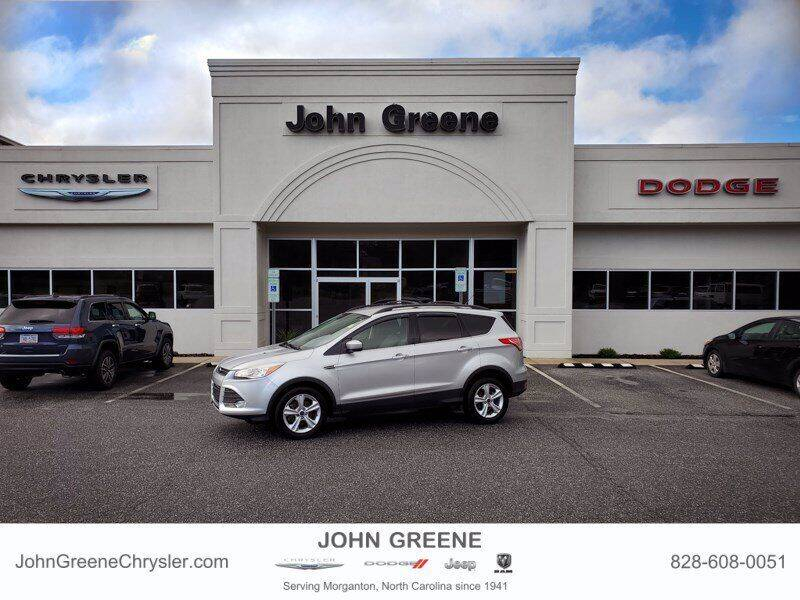 2015 Ford Escape for sale at John Greene Chrysler Dodge Jeep Ram in Morganton NC