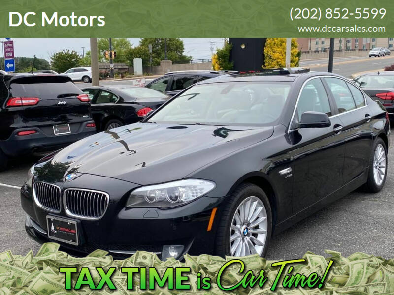 2011 BMW 5 Series for sale at DC Motors in Springfield VA