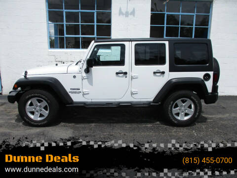 2012 Jeep Wrangler Unlimited for sale at Dunne Deals in Crystal Lake IL