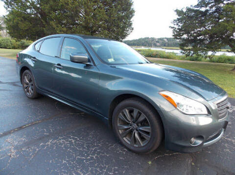 2011 Infiniti M37 for sale at The Car Store in Milford MA