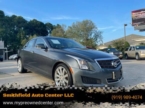 2013 Cadillac ATS for sale at Smithfield Auto Center LLC in Smithfield NC