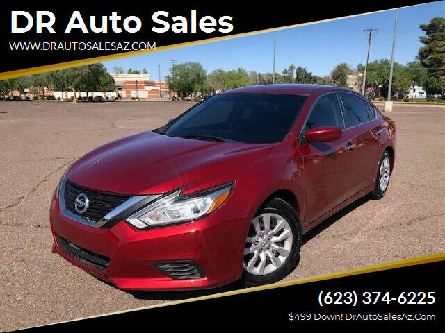 2016 Nissan Altima for sale at DR Auto Sales in Glendale AZ