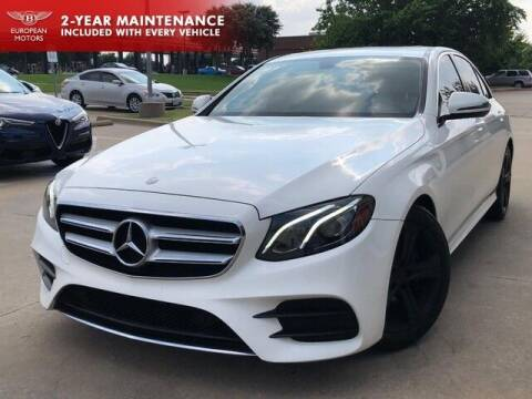 2017 Mercedes-Benz E-Class for sale at European Motors Inc in Plano TX