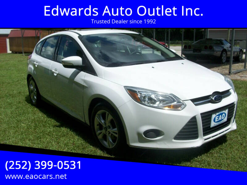 2014 Ford Focus for sale at Edwards Auto Outlet Inc. in Wilson NC