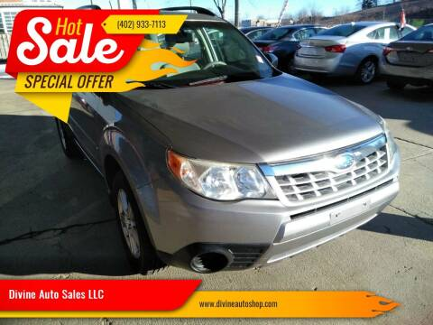 2011 Subaru Forester for sale at Divine Auto Sales LLC in Omaha NE
