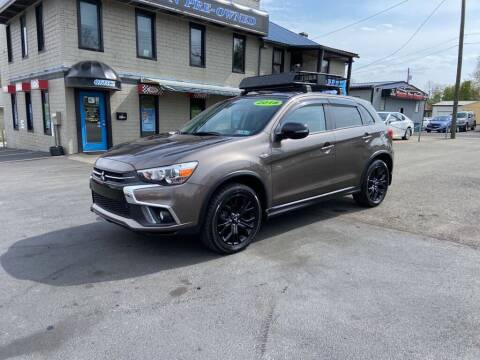 2018 Mitsubishi Outlander Sport for sale at Sisson Pre-Owned in Uniontown PA