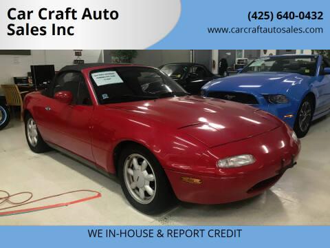 1990 Mazda MX-5 Miata for sale at Car Craft Auto Sales Inc in Lynnwood WA