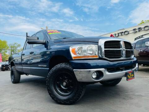2006 Dodge Ram Pickup 1500 for sale at Alpha AutoSports in Roseville CA