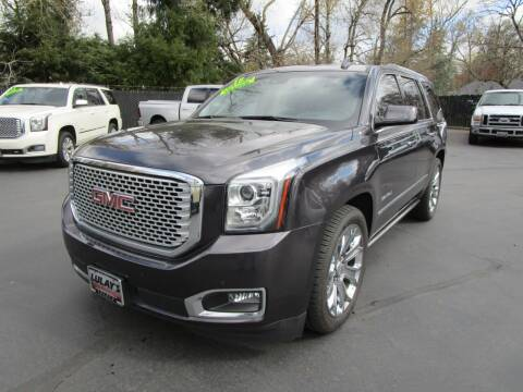 2016 GMC Yukon for sale at LULAY'S CAR CONNECTION in Salem OR