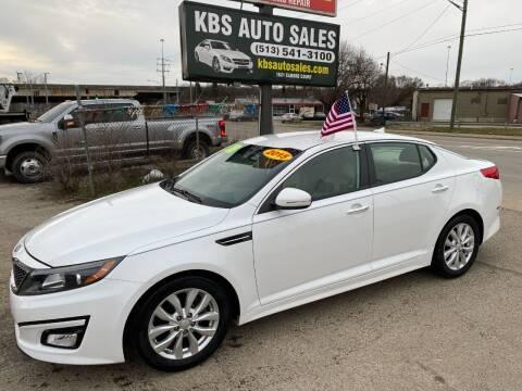 2015 Kia Optima for sale at KBS Auto Sales in Cincinnati OH