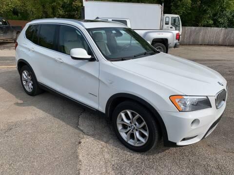 2013 BMW X3 for sale at Ol Mac Motors in Topeka KS