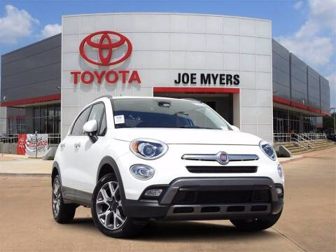 2017 FIAT 500X for sale at Joe Myers Toyota PreOwned in Houston TX