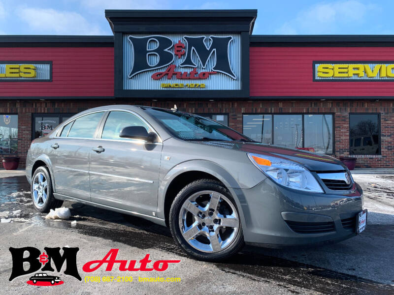 2008 Saturn Aura for sale at B & M Auto Sales Inc. in Oak Forest IL