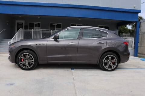 2017 Maserati Levante for sale at PERFORMANCE AUTO WHOLESALERS in Miami FL
