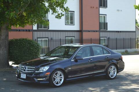 2012 Mercedes-Benz C-Class for sale at Skyline Motors Auto Sales in Tacoma WA