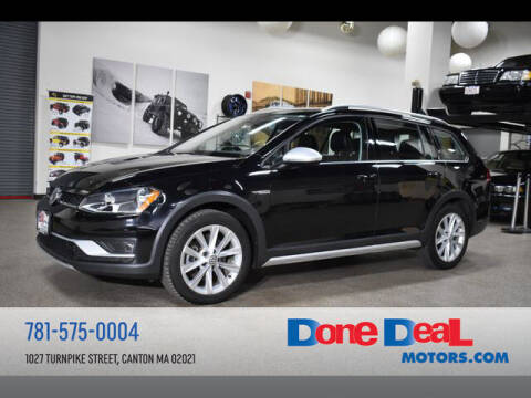 2017 Volkswagen Golf Alltrack for sale at DONE DEAL MOTORS in Canton MA