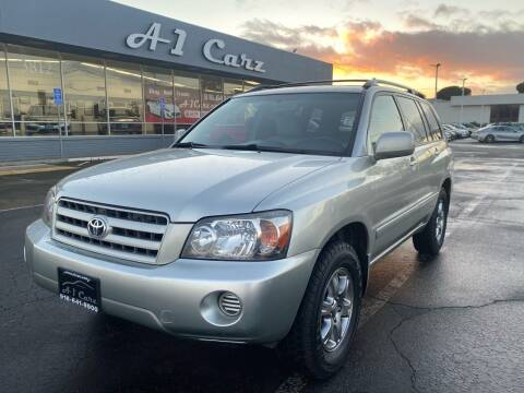 2004 Toyota Highlander for sale at A1 Carz, Inc in Sacramento CA